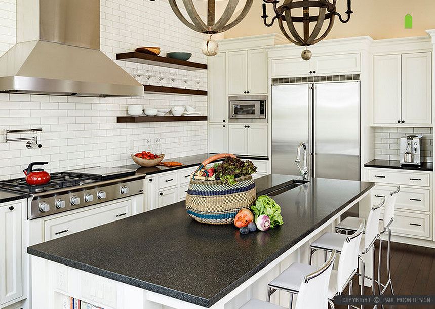 50+ Black Countertop Backsplash Ideas (Tile Designs, Tips ... on Backsplash Ideas For Black Countertops  id=91217