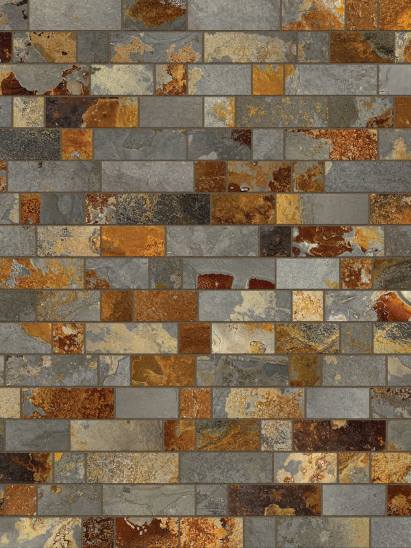 BA1063 slate mosaic kitchen backsplash 1