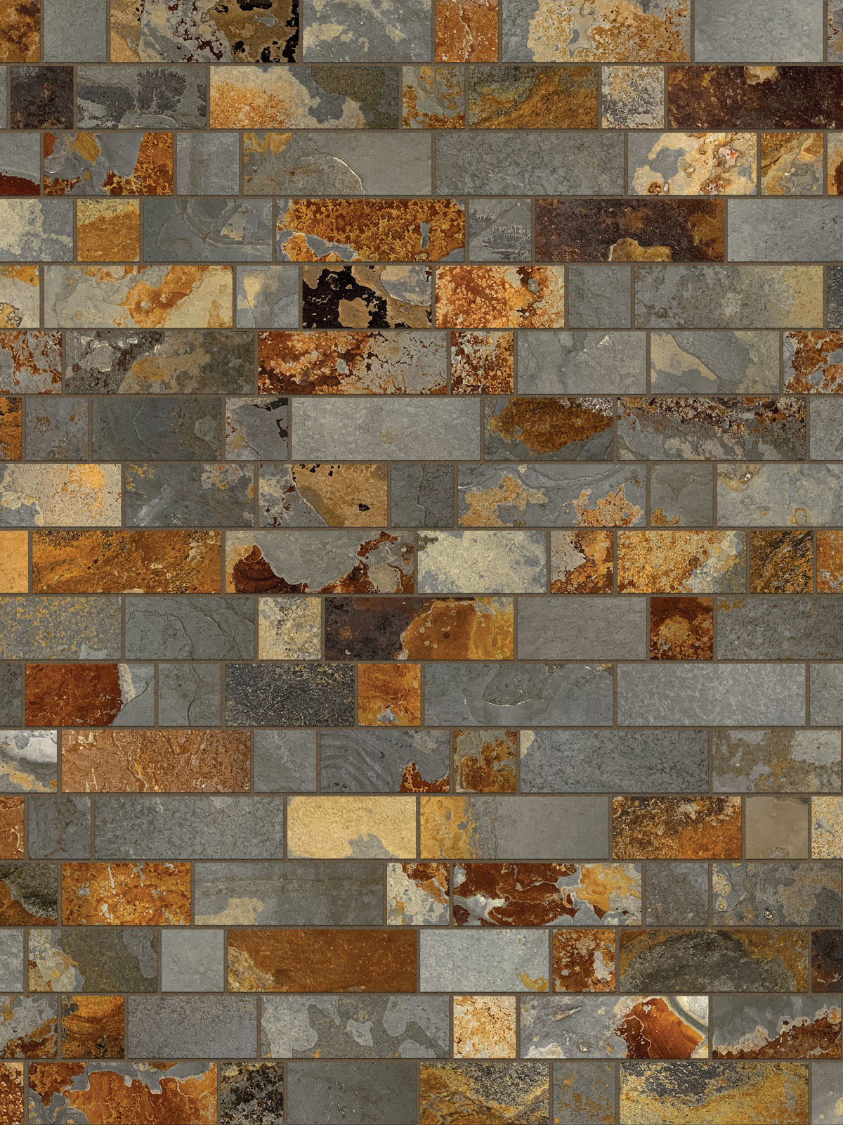 BA1063 slate mosaic kitchen backsplash 2