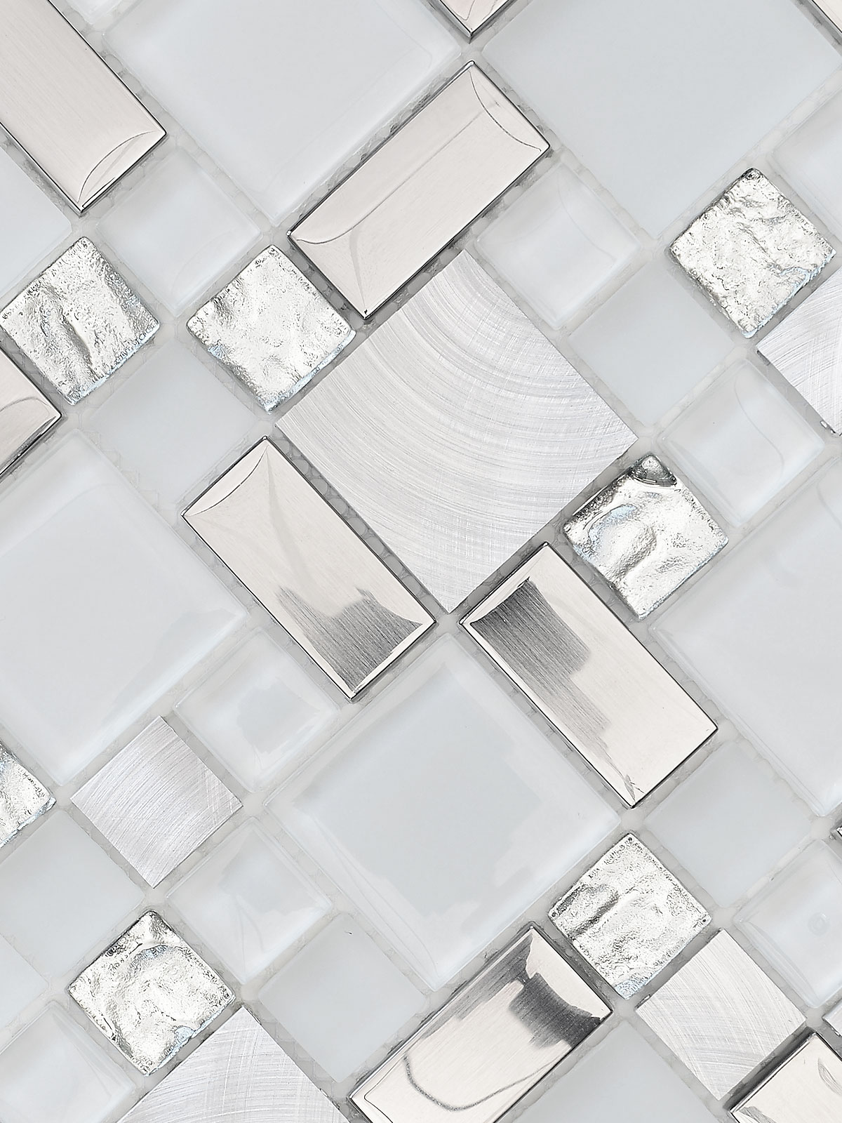 BA1138 Glass Metyal Backsplash Tile 2