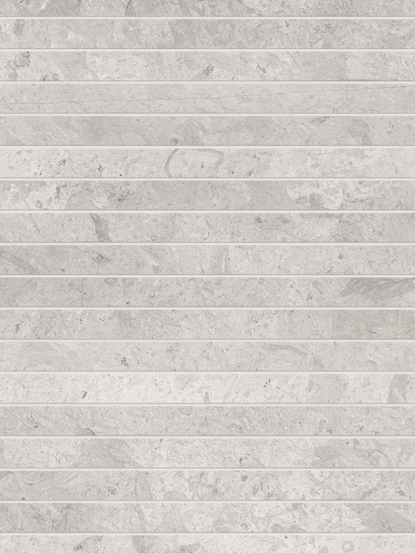 Modern gray limestone long backsplash tile BA1038