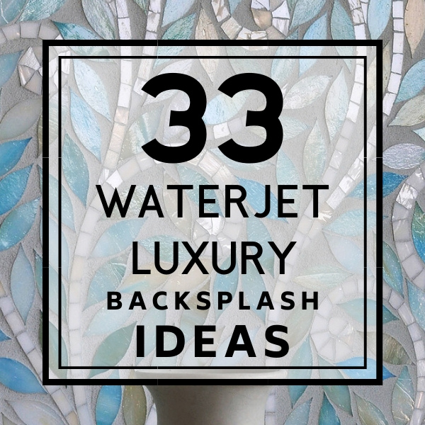Waterjet Cut Luxury Backsplash Tiles #waterjet #waterjettiles #waterjetbacksplash #luxurybacksplash #luxurytile