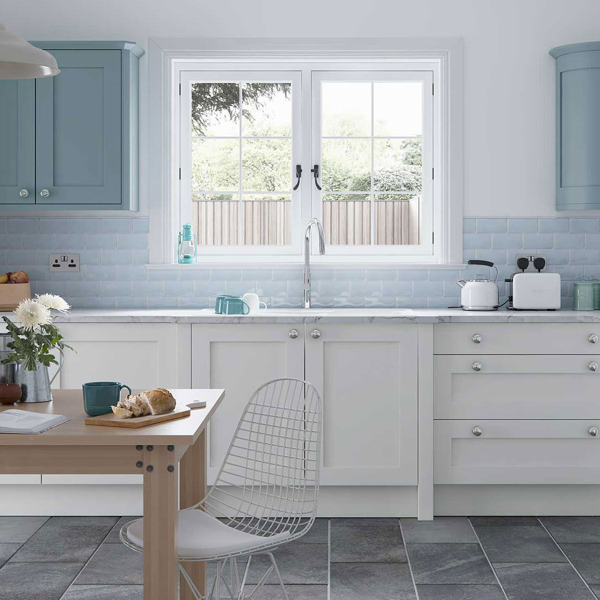 - 75+ Blue Backsplash Ideas ( Navy, Aqua, Royal Or Coastal ) Blue Design