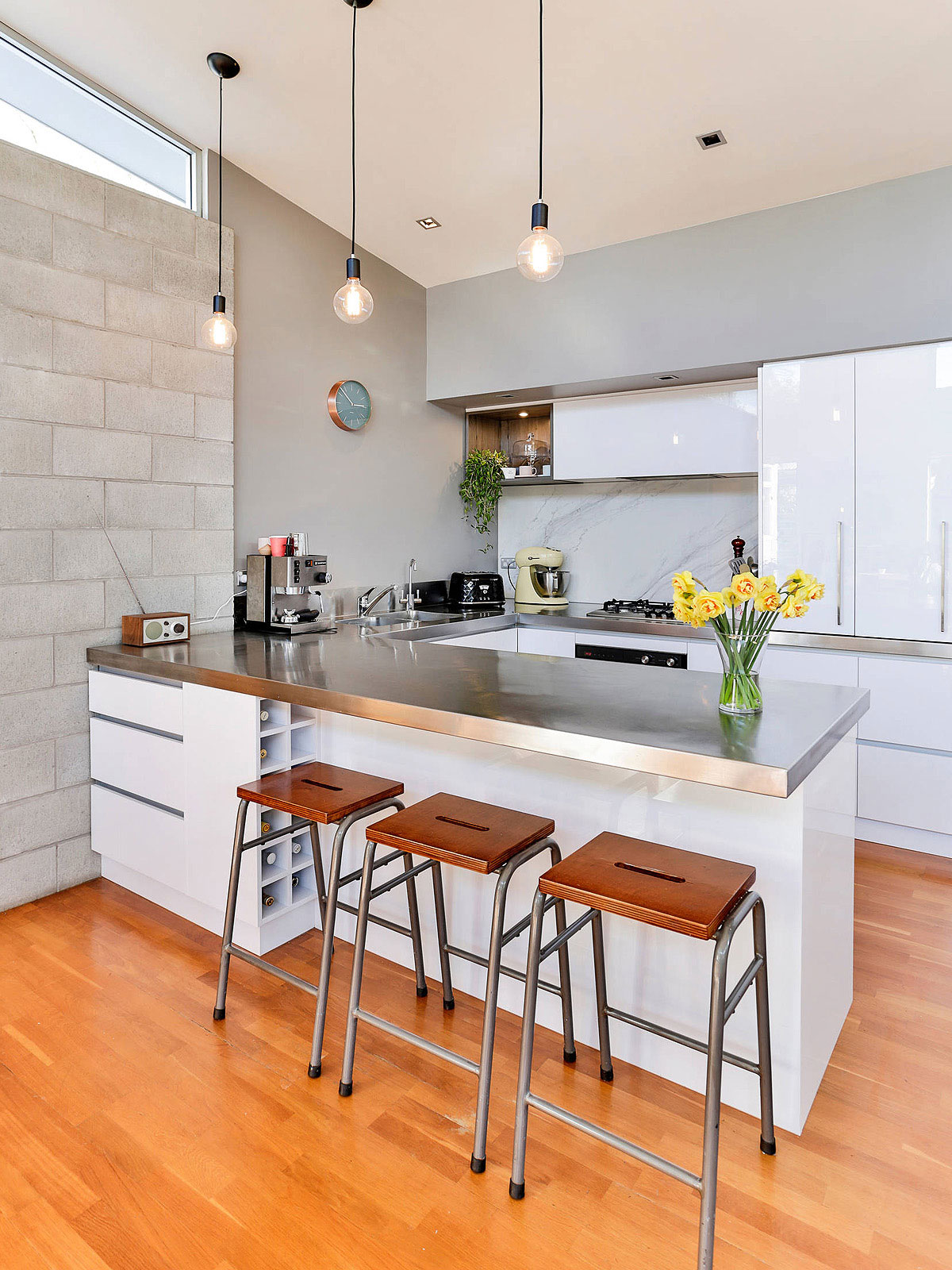 84+ Stainless Steel Countertop Ideas, Photos Pros & Cons
