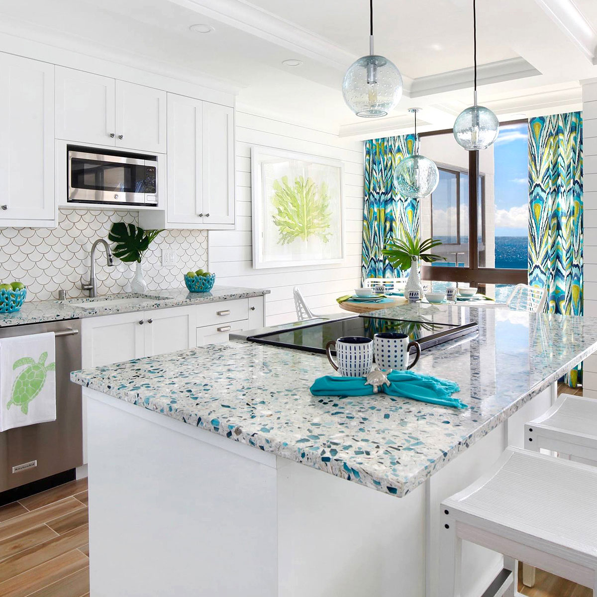 37 Recycled Gl Countertop Ideas Designs Tips Advice