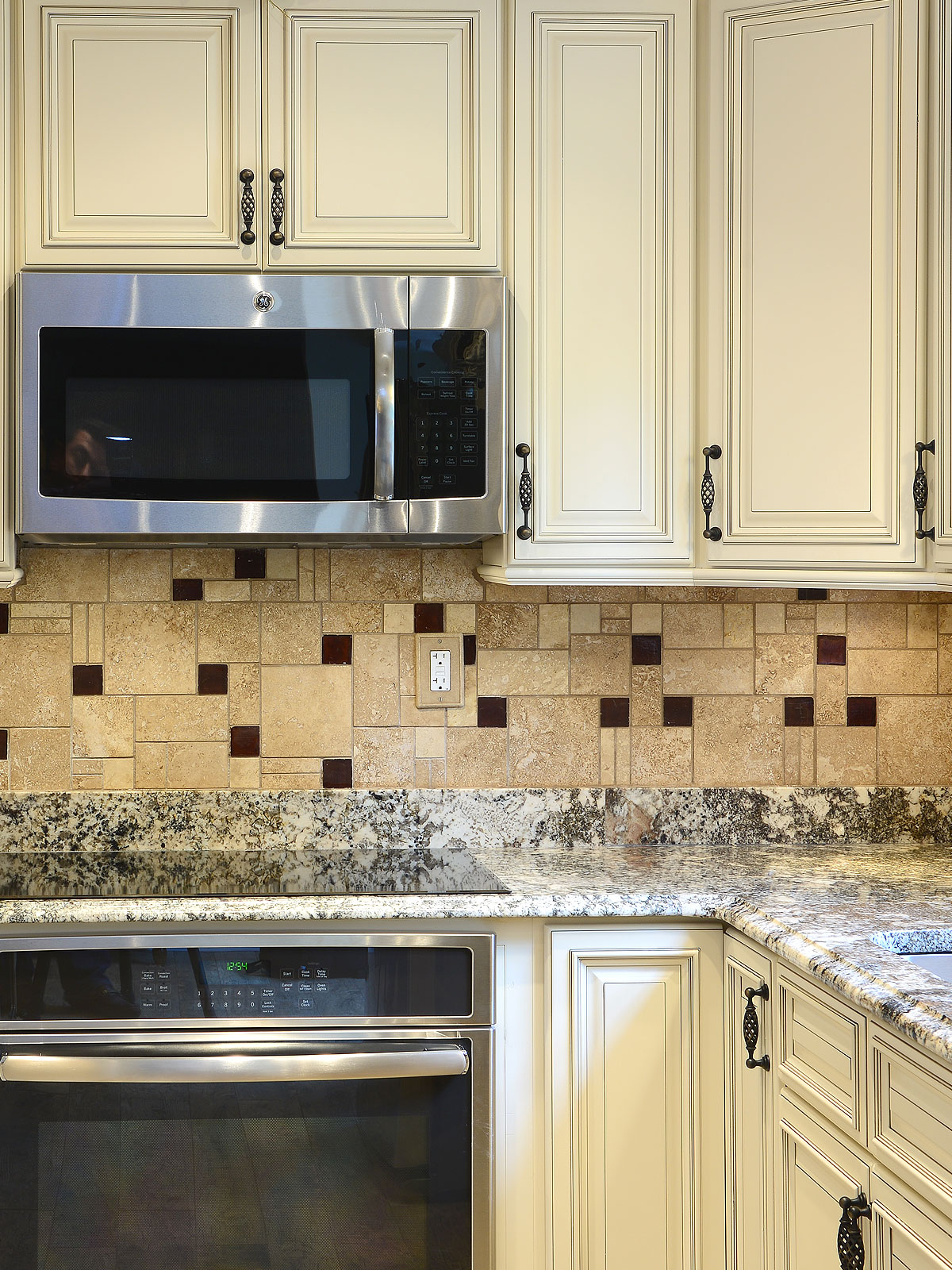 Travertine backsplash ideas