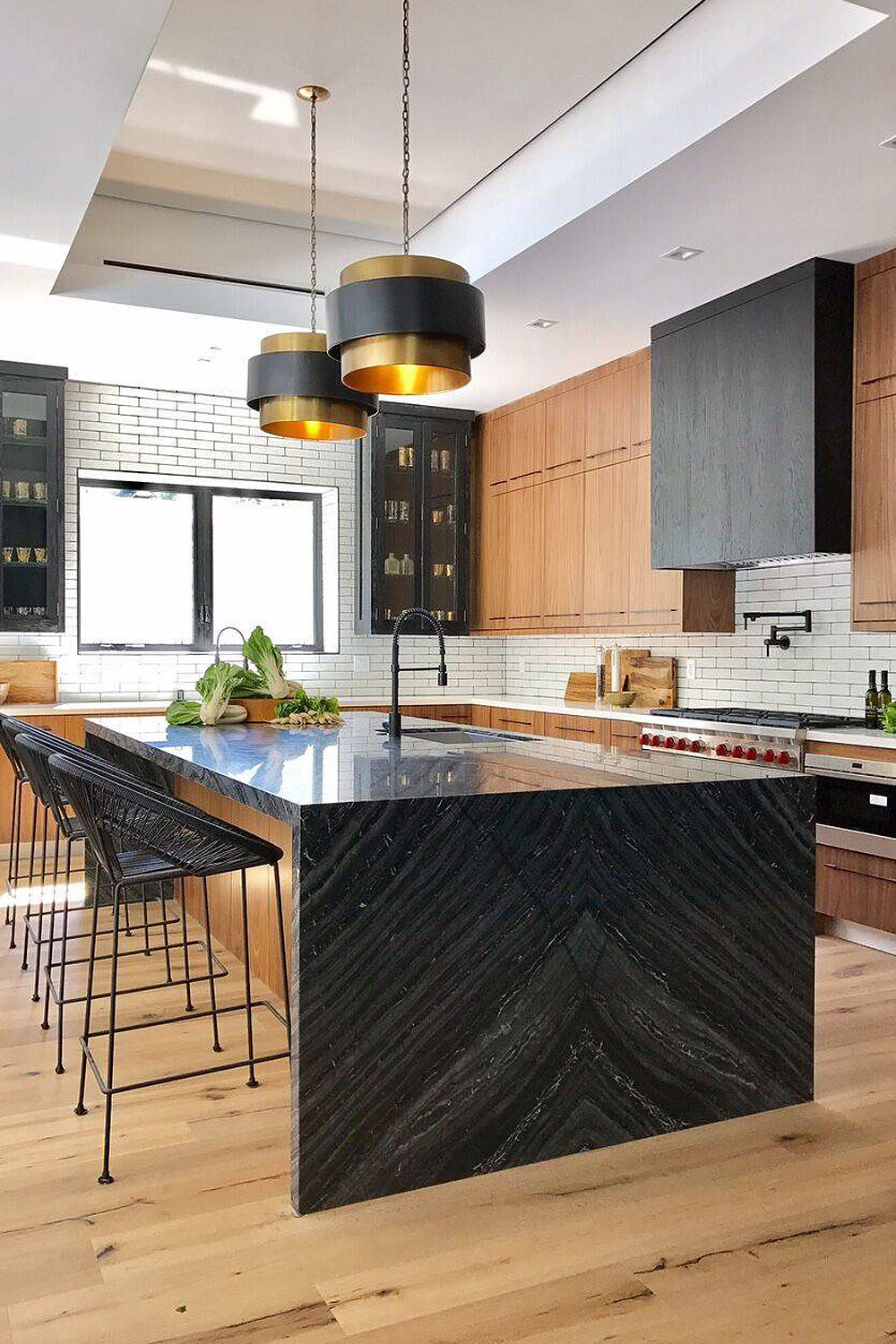 50 Black Countertop Backsplash Ideas Tile Designs Tips Advice