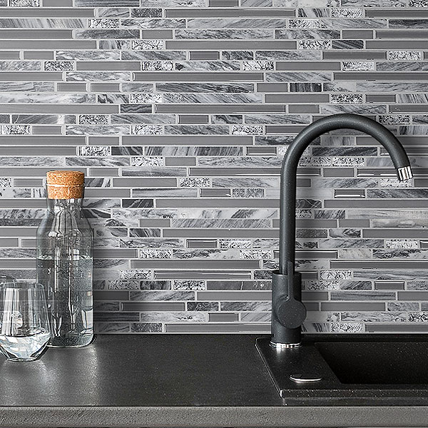 93+ Gray Backsplash Ideas - ( Contemporary Or Stylish? ) Gray Trends!