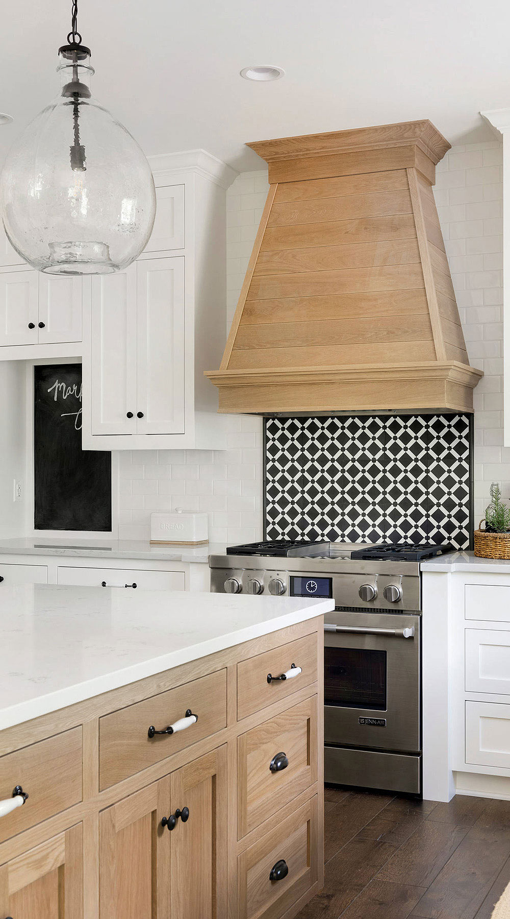19 Black White Kitchen Backsplash Ideas Make It Contrast