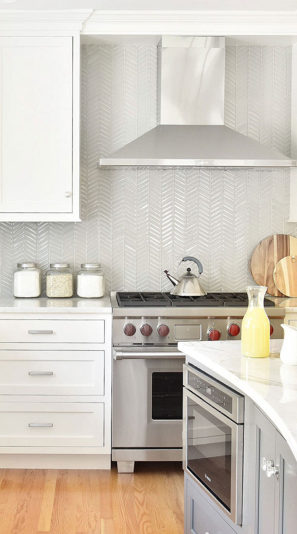 - 112+ Chevron Backsplash ( Zig - Zag ? ) Stunning - Chevron Pattern