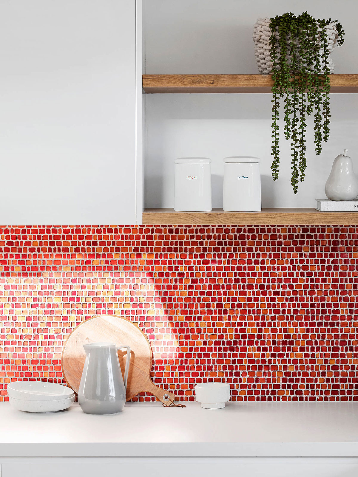 67 Red Backsplash Ideas A Powerful Color Red Statement