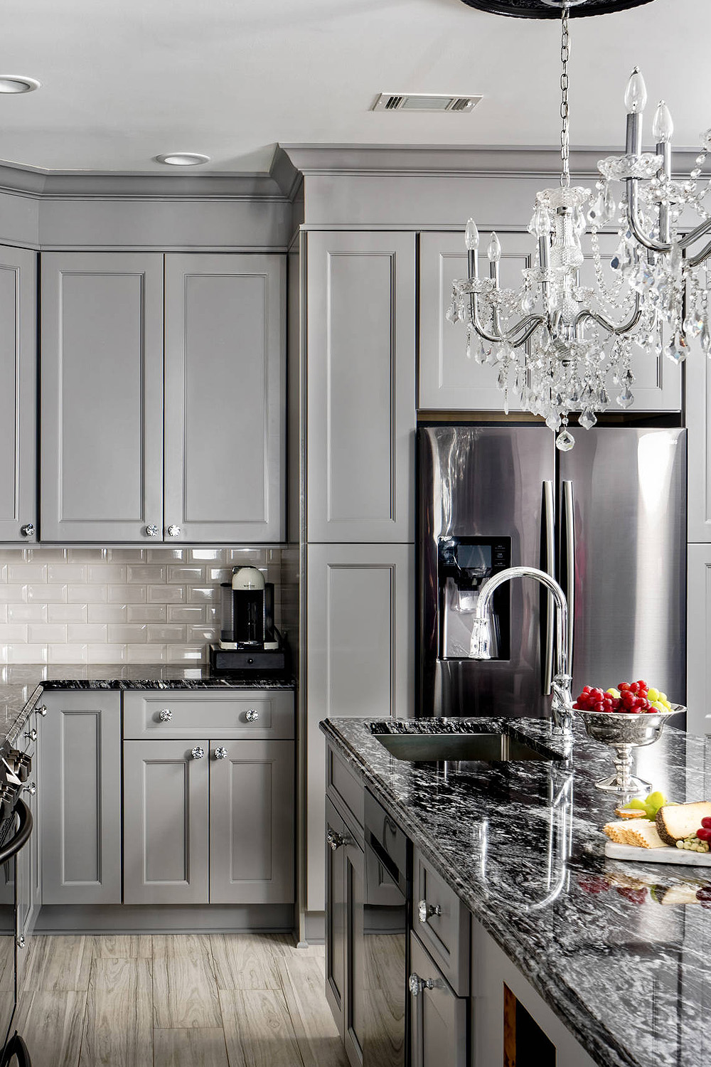 44 Gray Kitchen Cabinets Dark Or Heavy Dark Light Modern