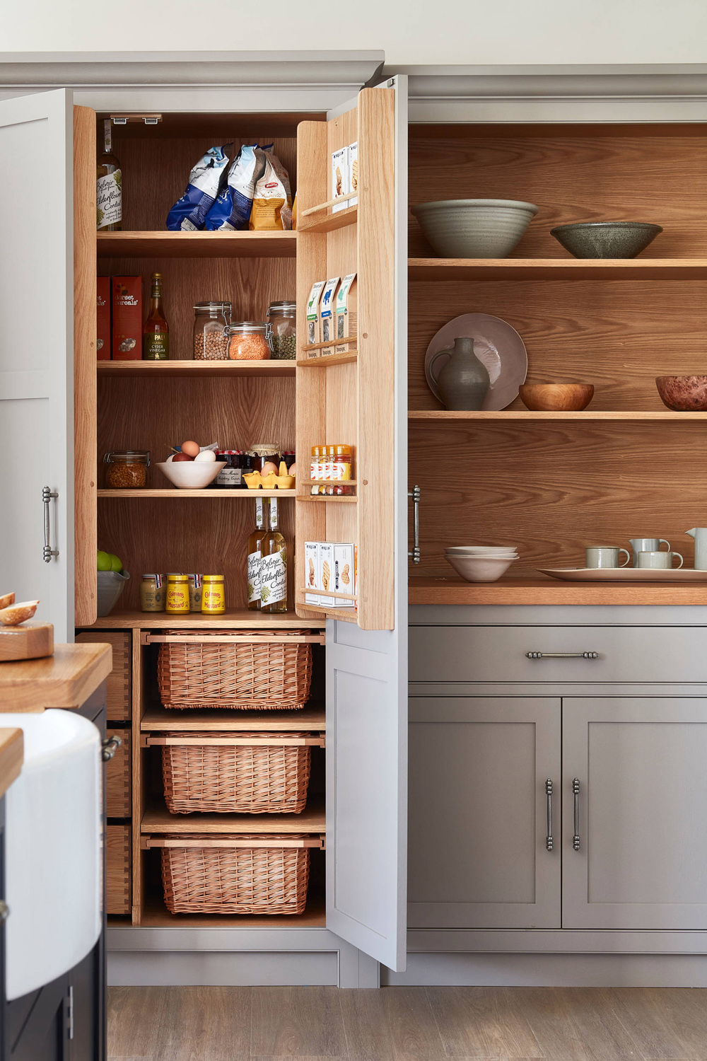 43 Kitchen Pantry Storage Clever Ideas Small Large Pantry Design