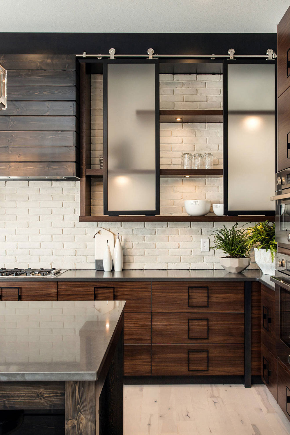 26 Glass Kitchen Cabinets Clear Frosted Modern Glass Cabinet