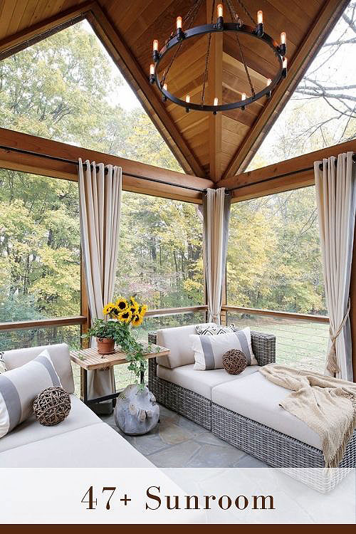 cozy sunroom ideas create connection with beautiful outdoors