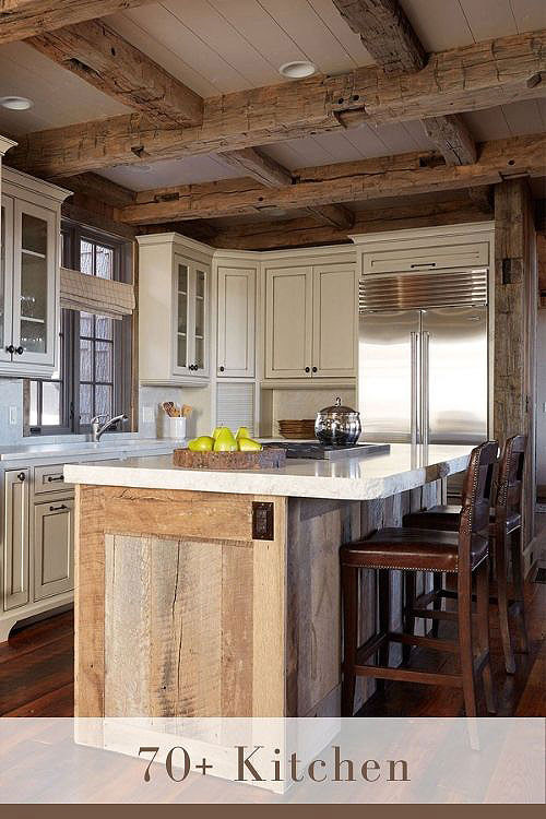 rustic kitchen cabinets country cottage farmhouse decoration