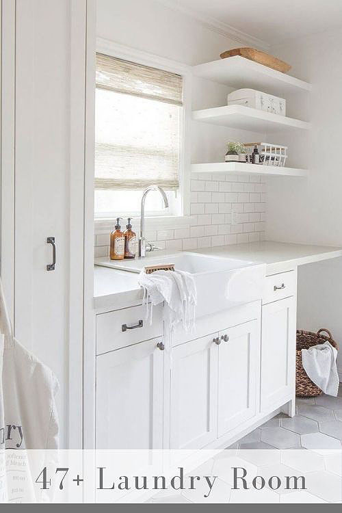 white laundry room cabinets well organized bright rooms
